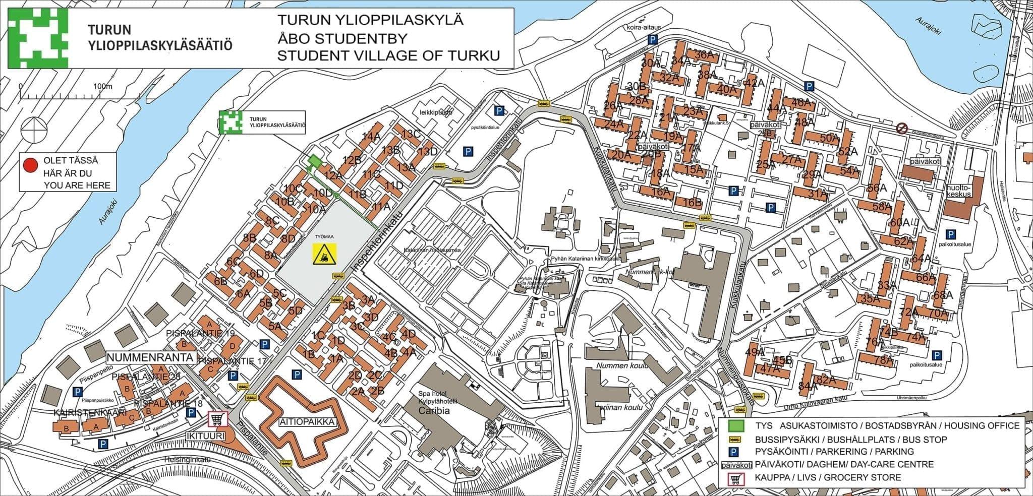 Exchange Students Apartments Tys Turun Ylioppilaskylasaatio